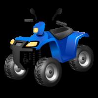 Blue ATV-256x256